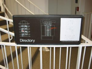 Wayfinding Directory Assistance Signage